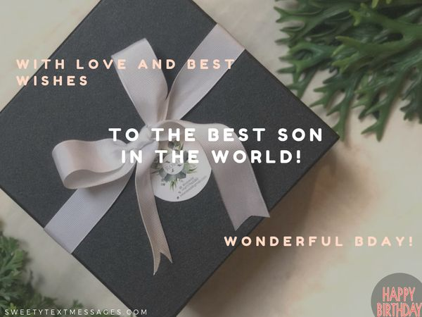 Happy Birthday Son Quotes Wishes For Son On His Bday