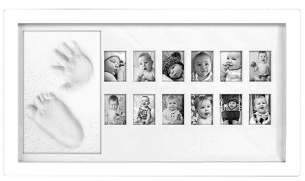 Adorable Baby Hand Foot Print Frame Kit