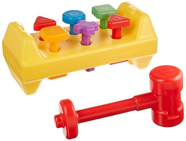 FisherPrice Tap N Turn Toolbench Toy