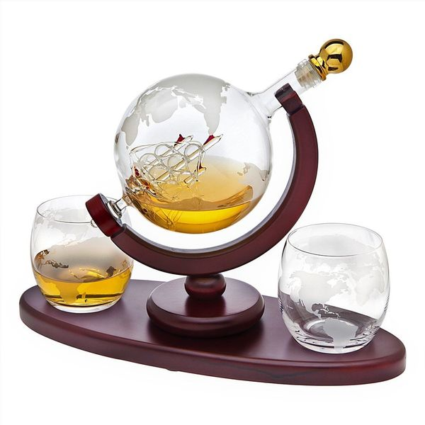 Godinger Decanter Globe Set