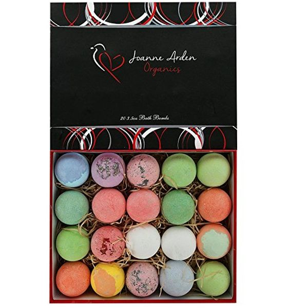 Joanne Arden Organics Vegan Bath Bombs Kit