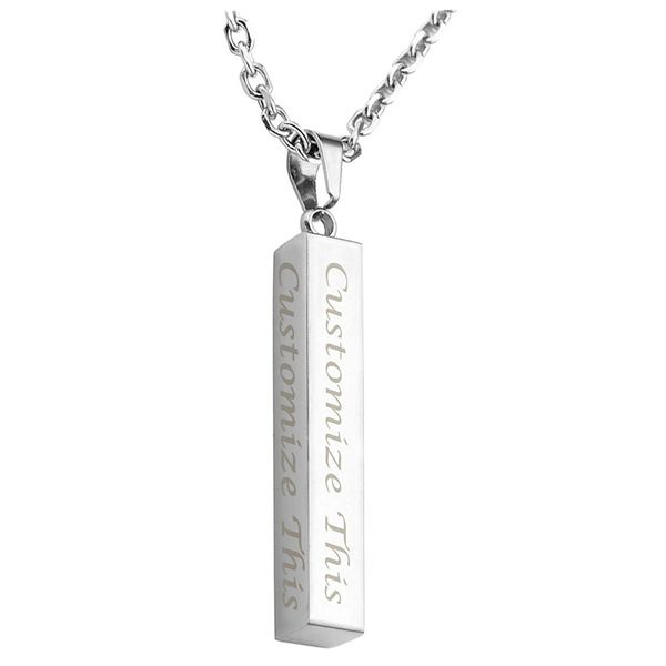 Jovivi Engraved Necklace