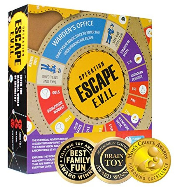 Kitki ESCAPE EVIL Fun Educational Board Game