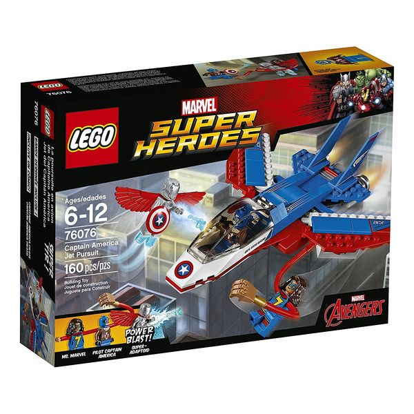 LEGO Super Heroes Captain America Jet Pursuit