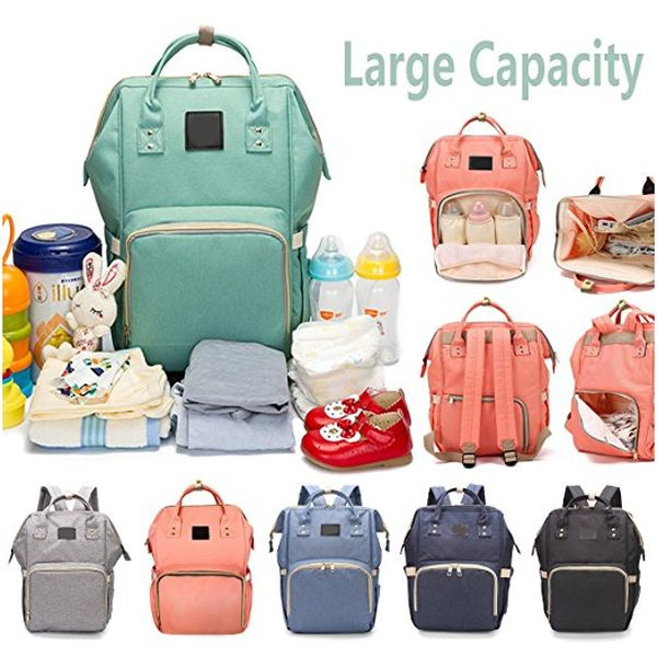 Large Capacity Diaper Bag for Baby Care