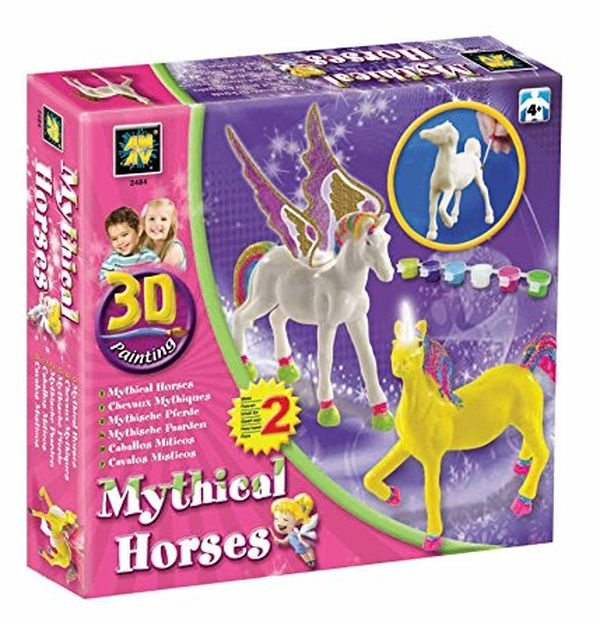 Mythical Horses Painting Craft Activity Kit