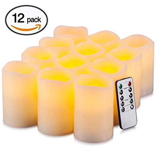 Real Flame-Effect Candles