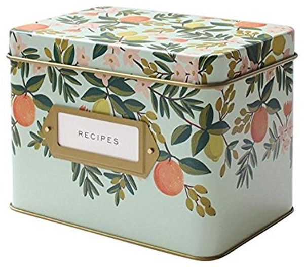 Rifle Paper Co. Recipe Box