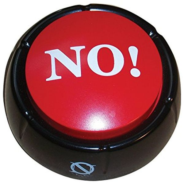 The Big Red NO! Button