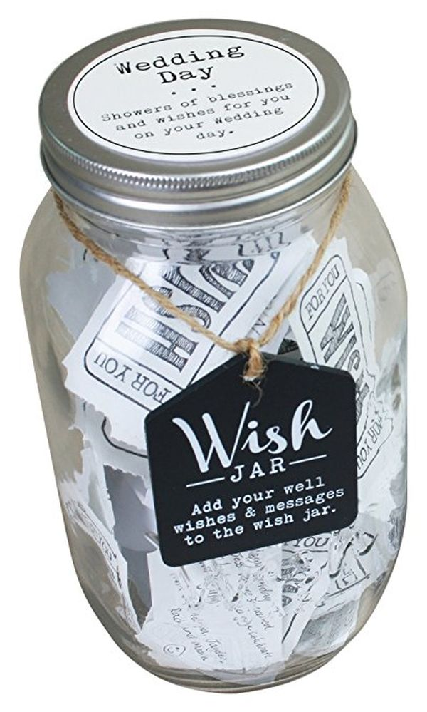Top Shelf Wedding Wish Jar