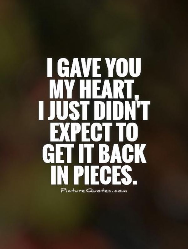 Broken Heart Quotes Heartbreak Sayings About Relationship And Love Best Broken Love Quotes