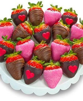 18-Piece Chocolate-Covered Strawberry Set