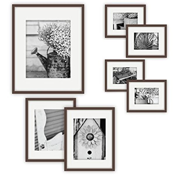 7 Piece Photo Frame Wall Gallery Kit