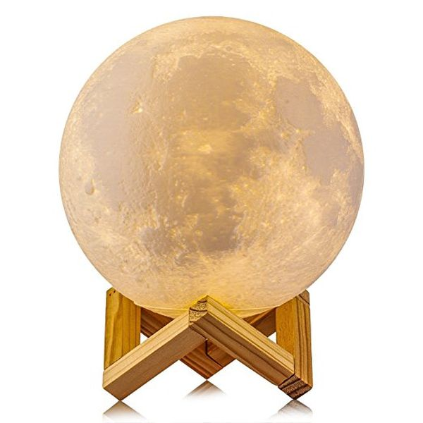 ACED 3D Printing 4.7Inch Moon Light Lamp