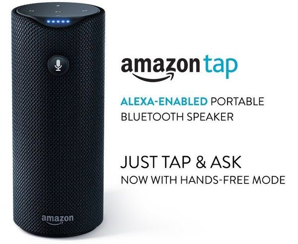 Amazon Tap Alexaenabled Portable Bluetooth Speaker