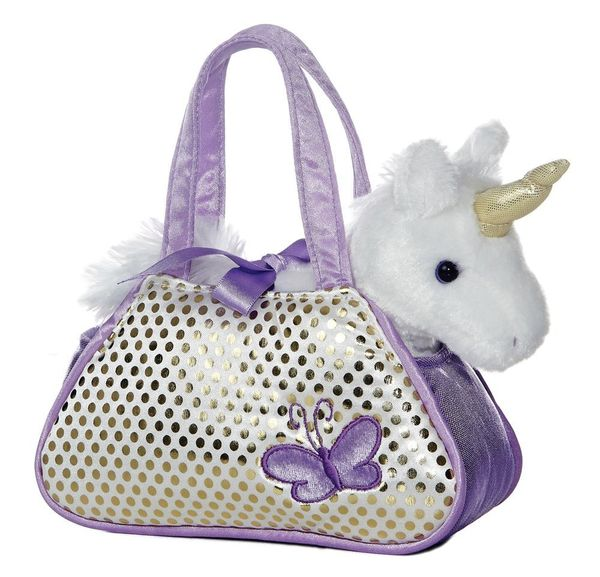 Aurora Unicorn Fancy Pals Purse with 8 Unicorn