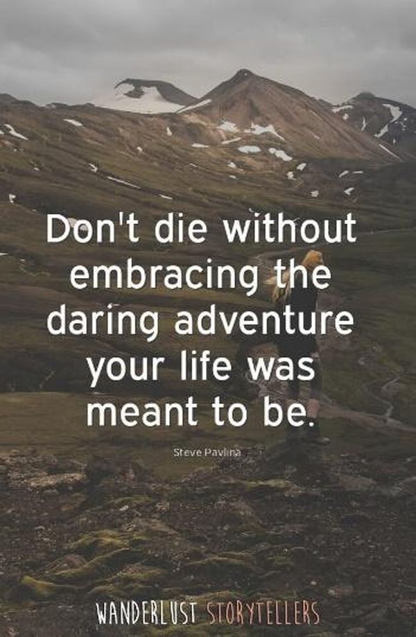 Best Adventure Photography with Quotes 2