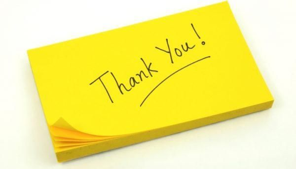 Amazing Best Images of Thank You Notes