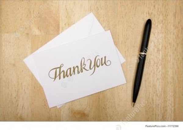Best Images of Thank You Notes