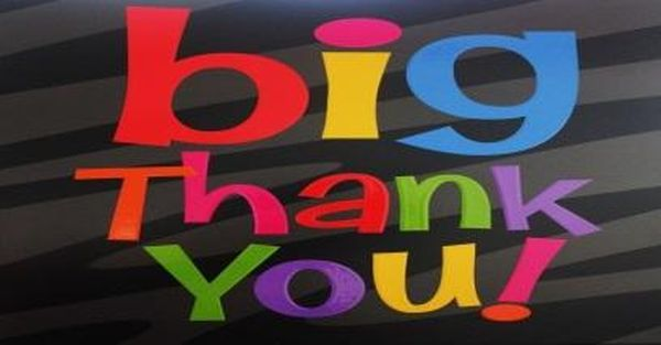Super Bright Pictures for Big Thank You
