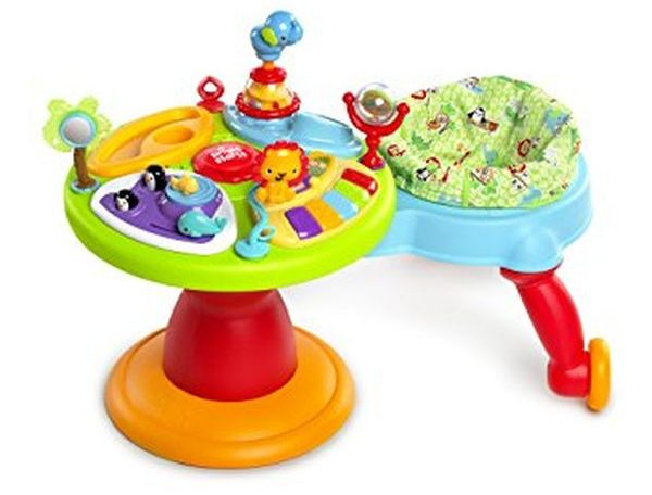 Bright Starts Around We Go 3in1 Activity Center Zippity Zoo