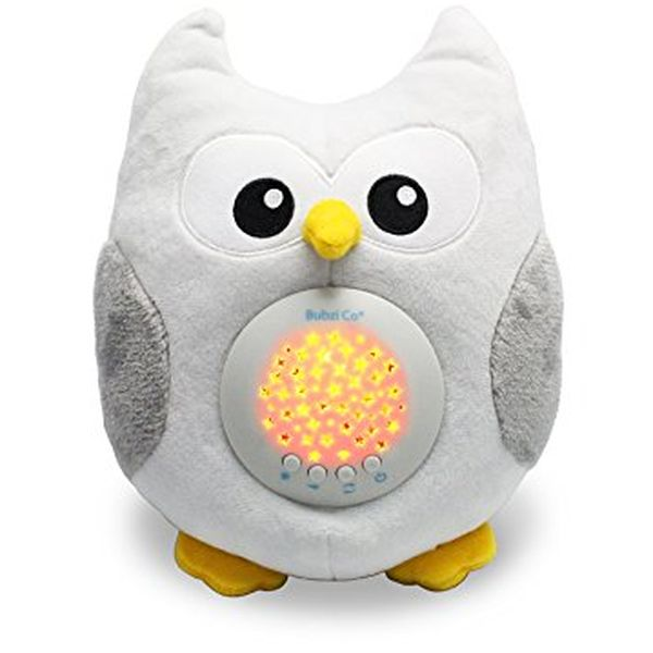 Bubzi Co Baby Sleep Aid Night Light & Shusher Sound Machine
