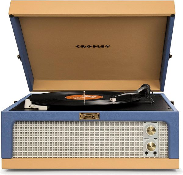 CR6234A-BT Dansette Junior Portable Turntable with Aux-In