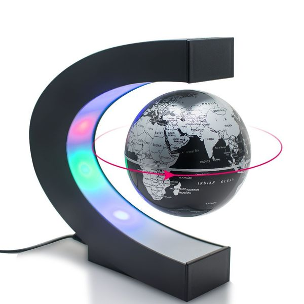 Carejoy C Magnetic Levitation Floating Globe World Map