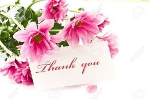 Super Colorful Thank You Images with Flowers
