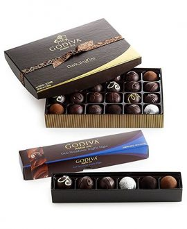 Dark Chocolate Truffle Lover's Holiday Gift Set