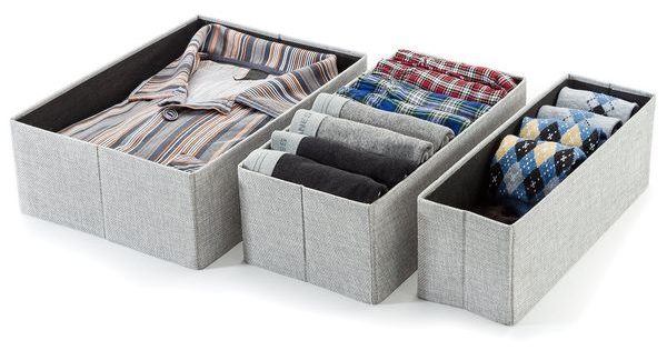 Foldable Closet Drawer Organizer