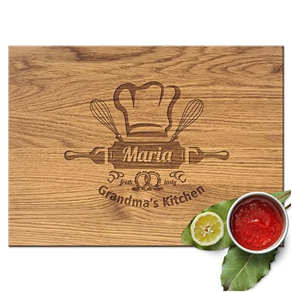 Froolu Grandma's Kitchen Personalized Cheese Board