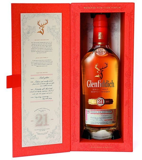 Glenfiddich 21 Year Old Scotch Whisky