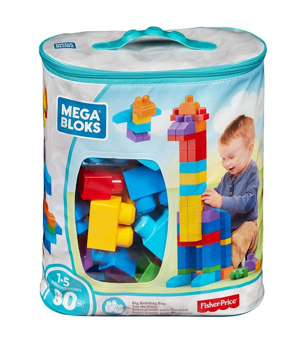 Mega Bloks 80Piece Big Building Bag Classic