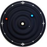 Microtimes Galaxy Magnetic Clock