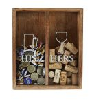 Mud Pie HisHer Cork Display Box