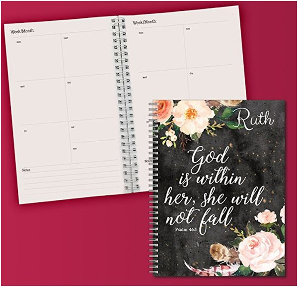 Personalized Monthly and Weekly Planner and Organizer