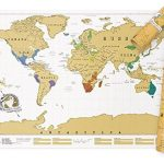 Personalized World Travel Map Poster
