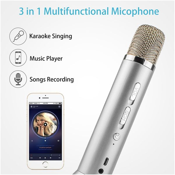 Portable Karaoke Player Machine with Speaker