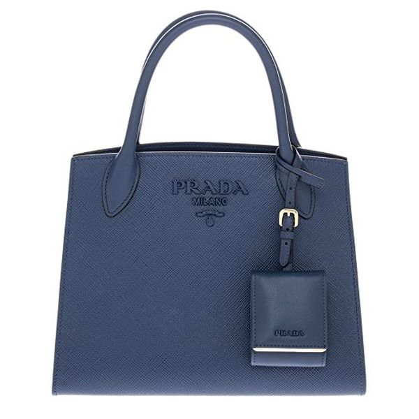 d165db9b9a5f Prada Monochrome Tote Saffiano Leather Astrale Bleue in blue | fashionette.  Luxury Gifts for Her, Best Expensive Presents Ideas for Women
