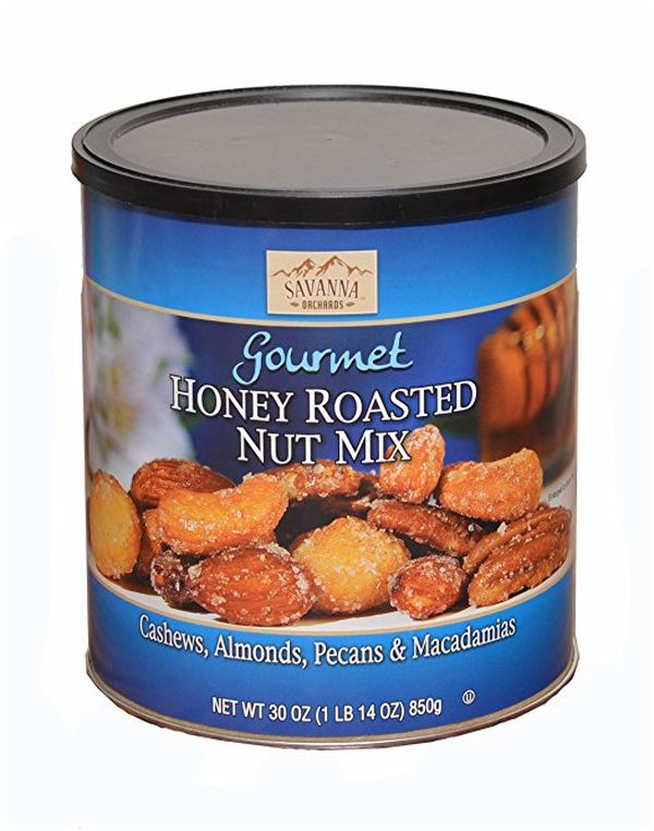 Savanna Orchards Gourmet Honey Roasted Nut Mix