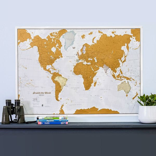 Scratch the World Travel Poster