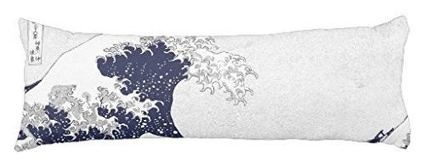 The Great Wave off Kanagawa by Katsushika Hokusai Body Pillowcase