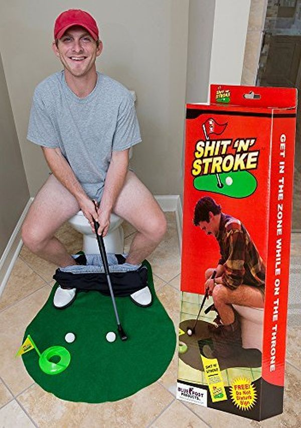Toilet Golf Game funny cheap gifts for boyfriend