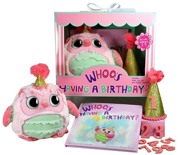 Whooos Having a Birthday Gift Set for Girls