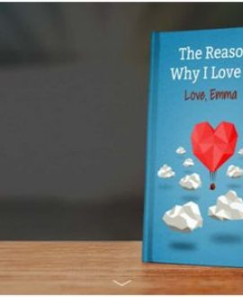 "Customized ""Reasons Why I Love You"" Book"