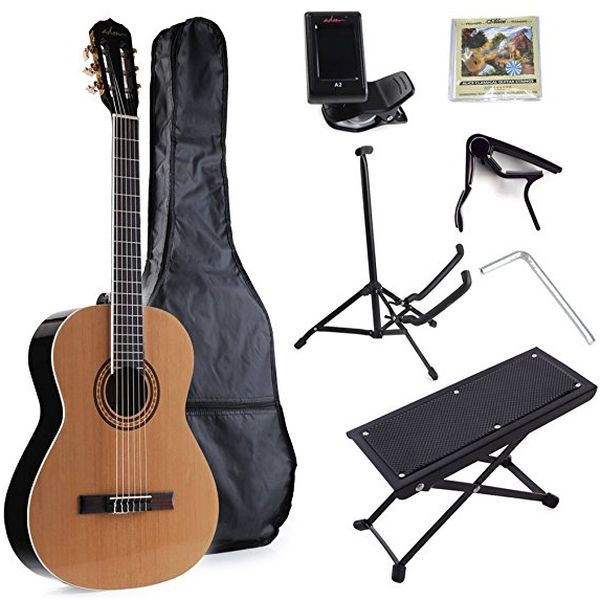 ADM Full Size Nylon String Classical Guitar