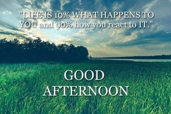 Good Afternoon Images with Quotes for Your Friends and Relatives 5