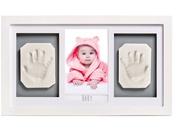 Lovely Baby Handprint or Footprint Picture Frame Kit