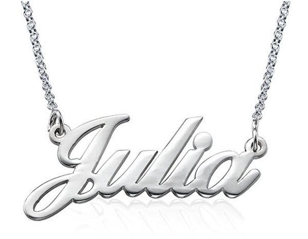 Silver My Name Necklace